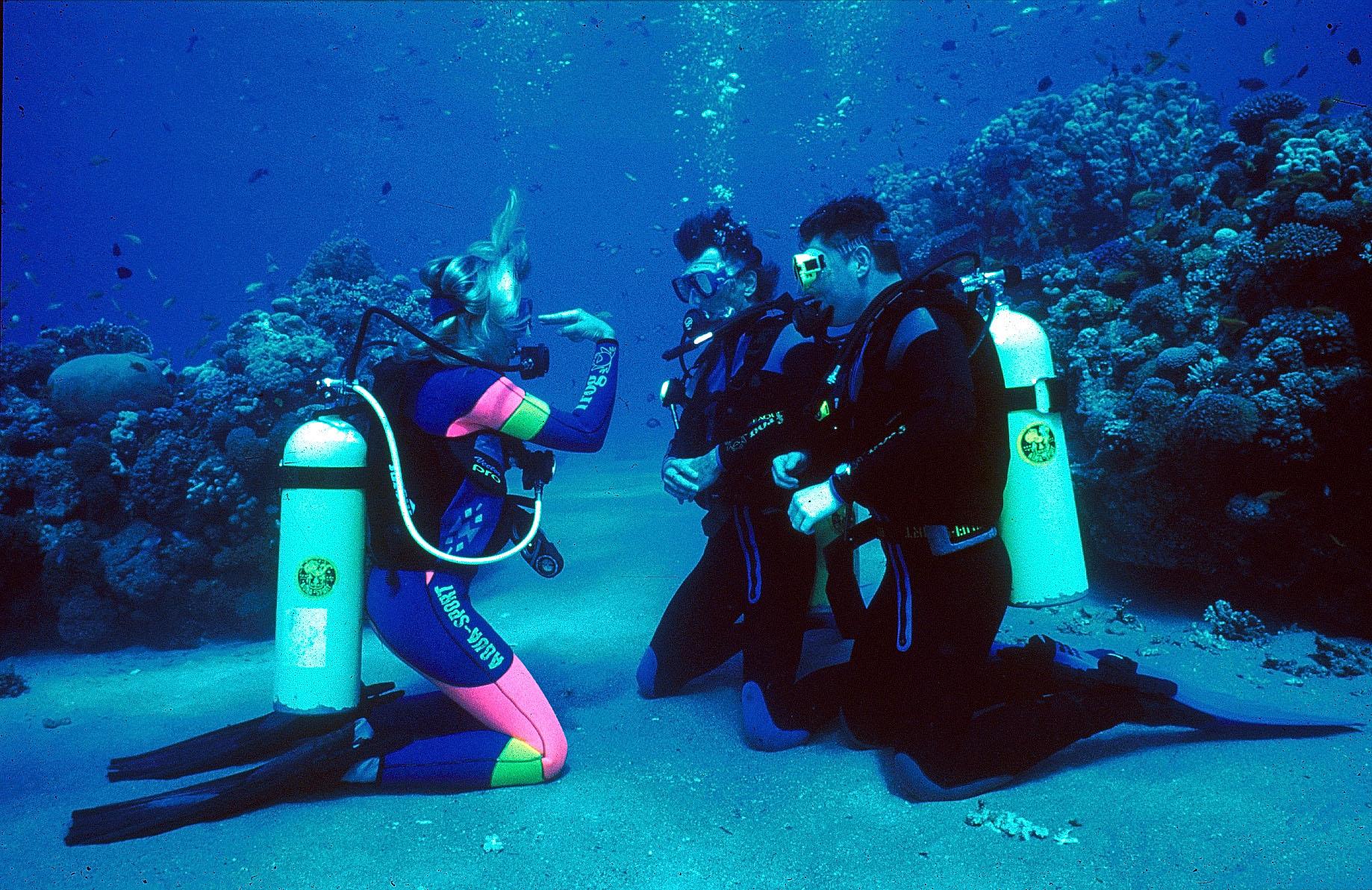 Scuba Diving In Goa with coach