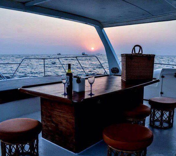 Bar on cruise