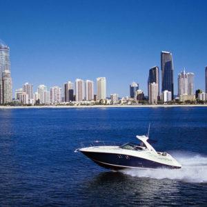 Searay boat