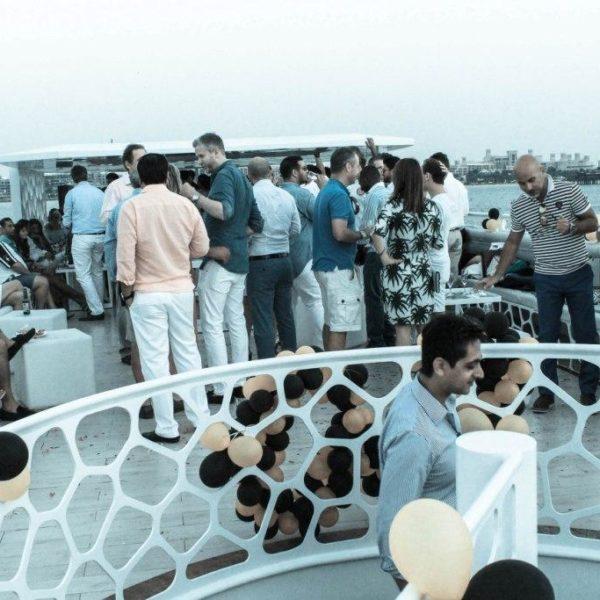 Yacht party dance dj
