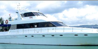 luxury yachts in Goa