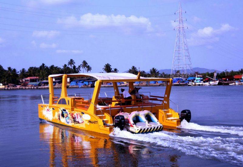 Catamaran sailing in kerala