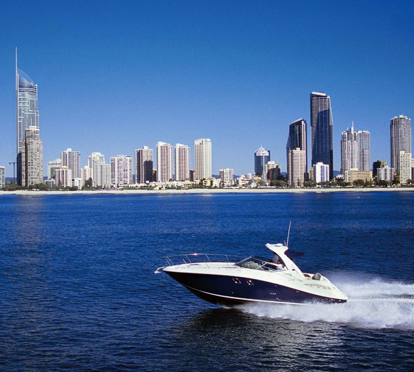Searay boat