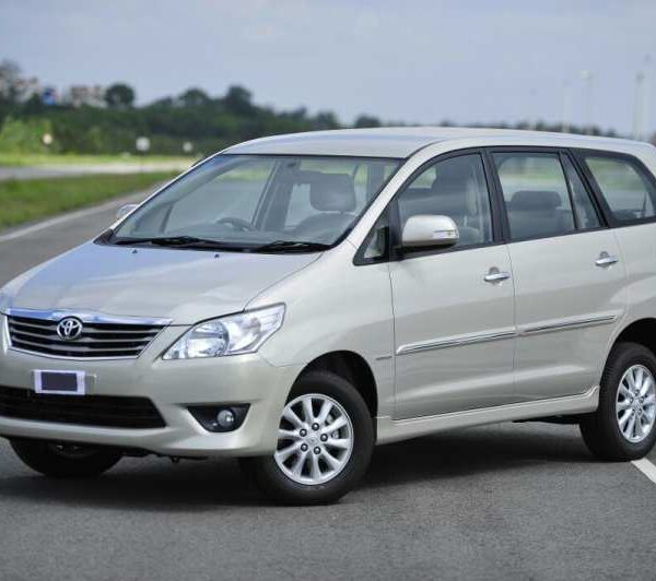 Innova car rental Goa