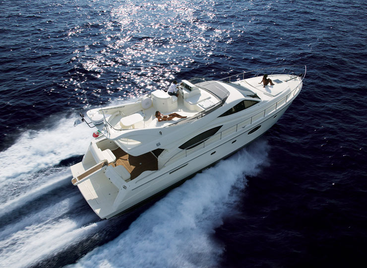 top side on yacht