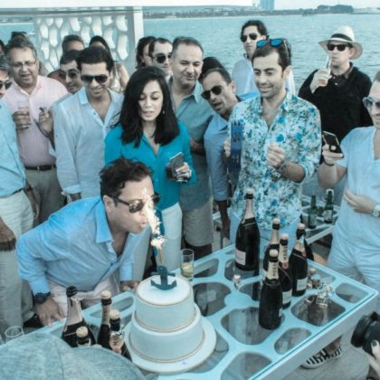 birthday party on cruise